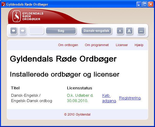 engelsk dansk ordbog gratis online gyldendal